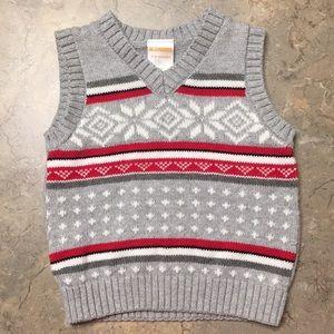 Gymboree Shirts & Tops - Gymboree holiday sweater vest 3-6 mo.
